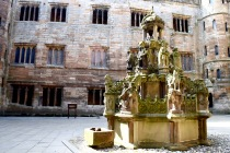 Fountain at Linlithgow Palace, 6/5/16