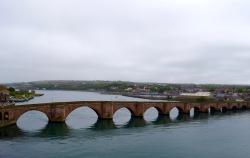 Crossing the bridge, 6/4/16