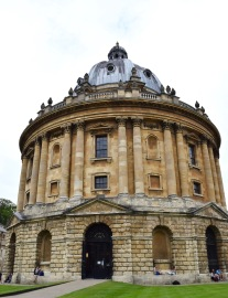 The library at Oxford, 6/10/16